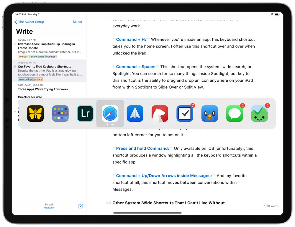 The Best iPad Keyboard Shortcuts for Improved Productivity
