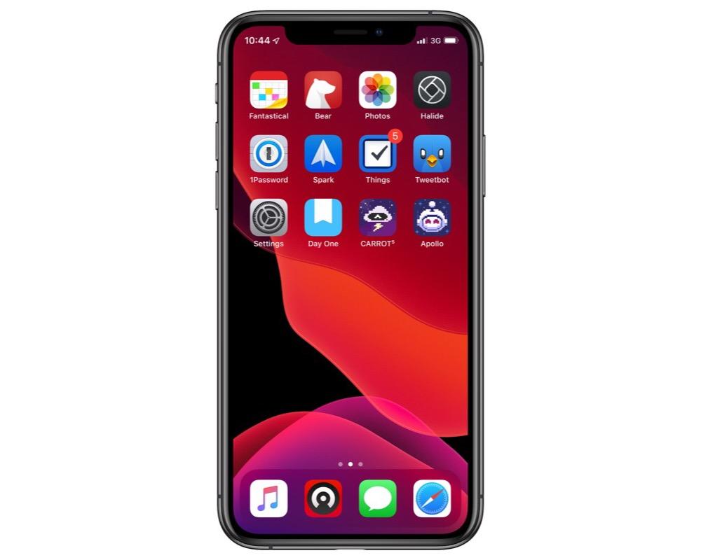 Jack Bishop's iPhone