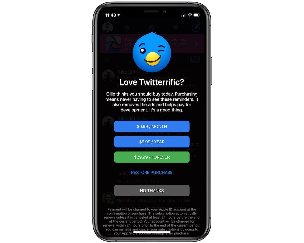 Twitteriffic 6 Released with Enhanced Media Support