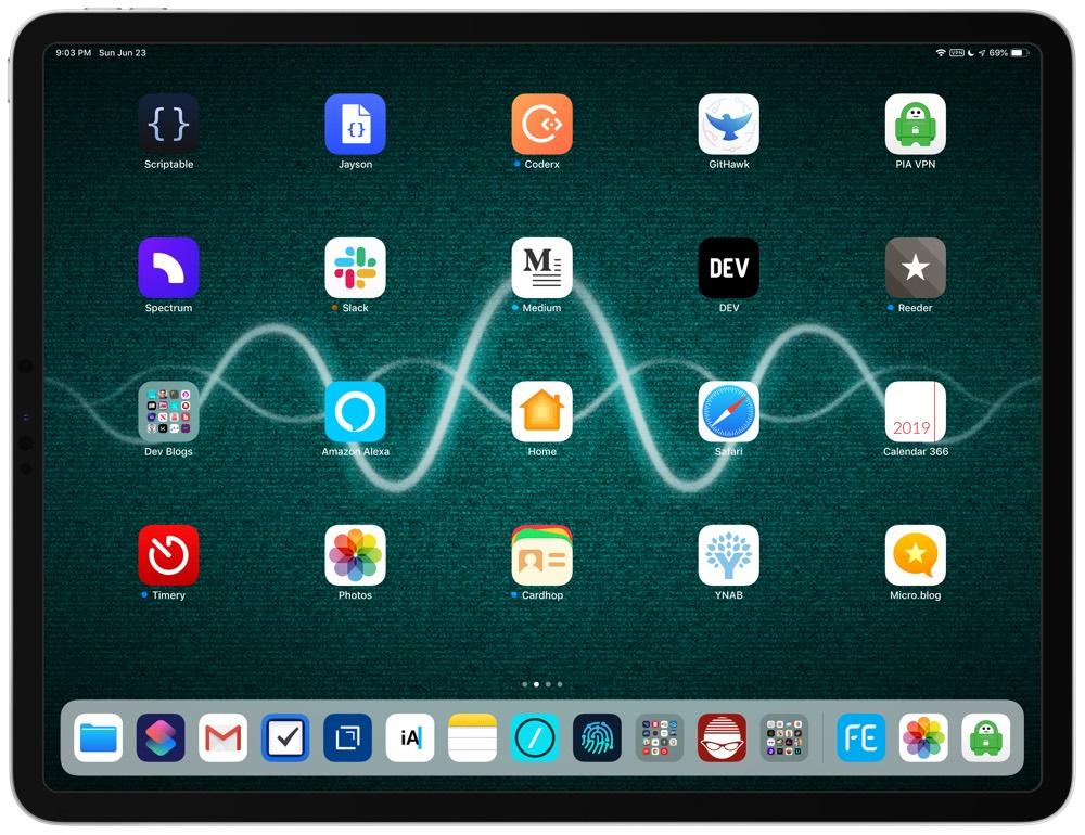 Tiffany White's iPad