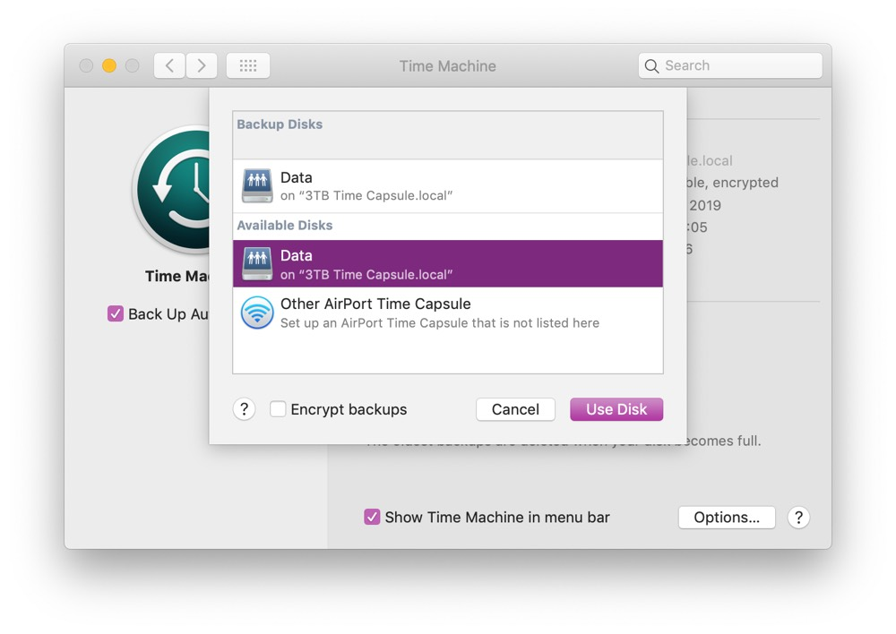 How to Enable Time Machine Backups for Your Mac – The Sweet
