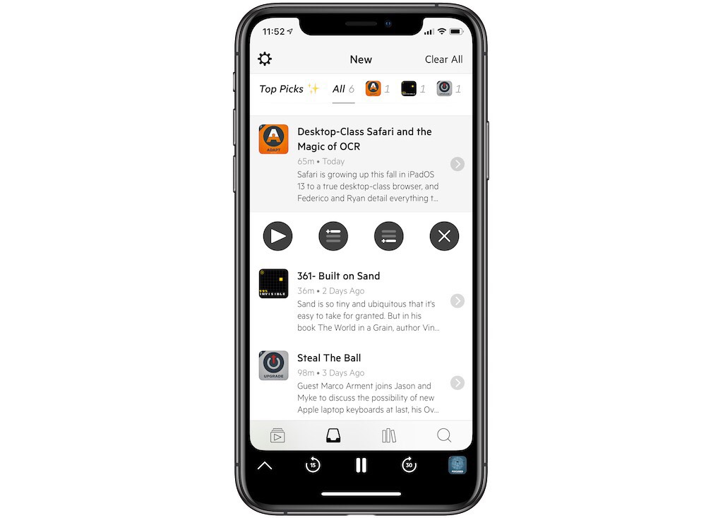 Our favorite Podcast app for iPhone & iPad: Overcast — The
