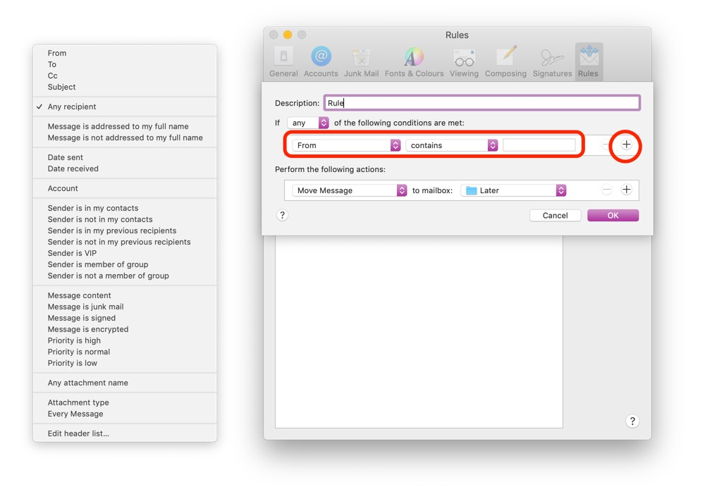 Get Started with Mail Rules on Your Mac – The Sweet Setup