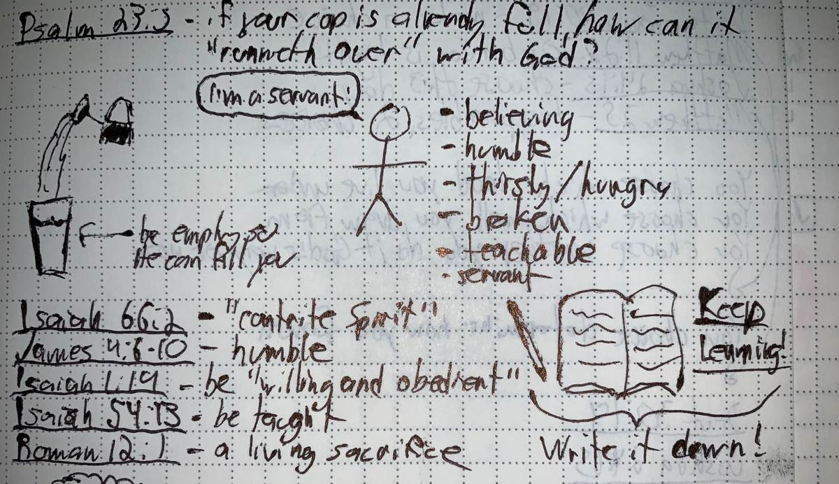 Beginning sketchnote