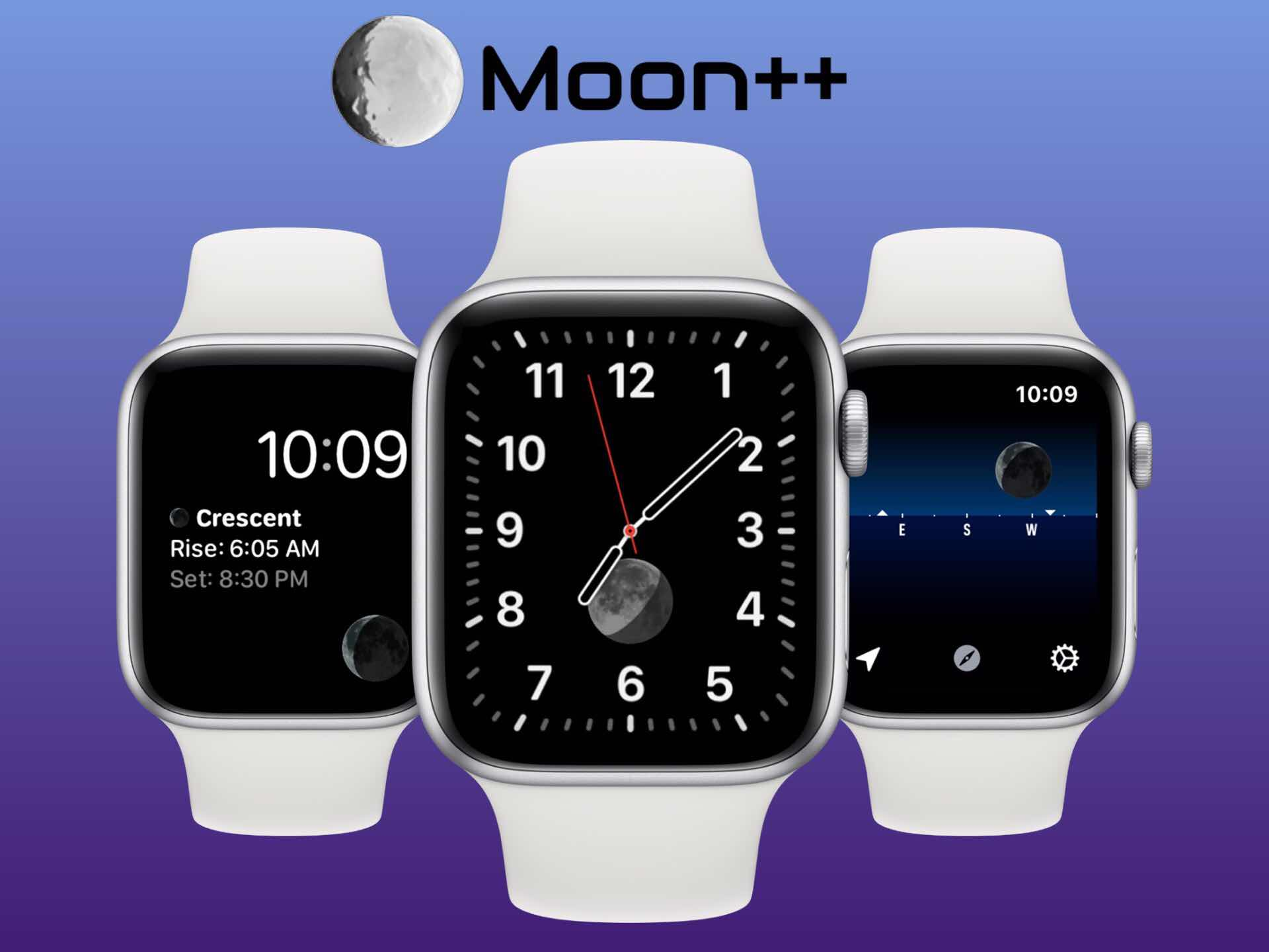 Moon++ for Apple Watch