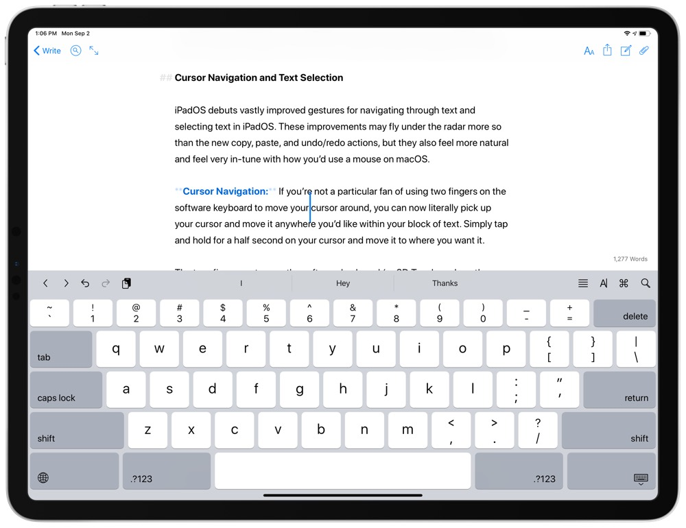 Text-Formatting-iPadOS-5 jpeg – The Sweet Setup