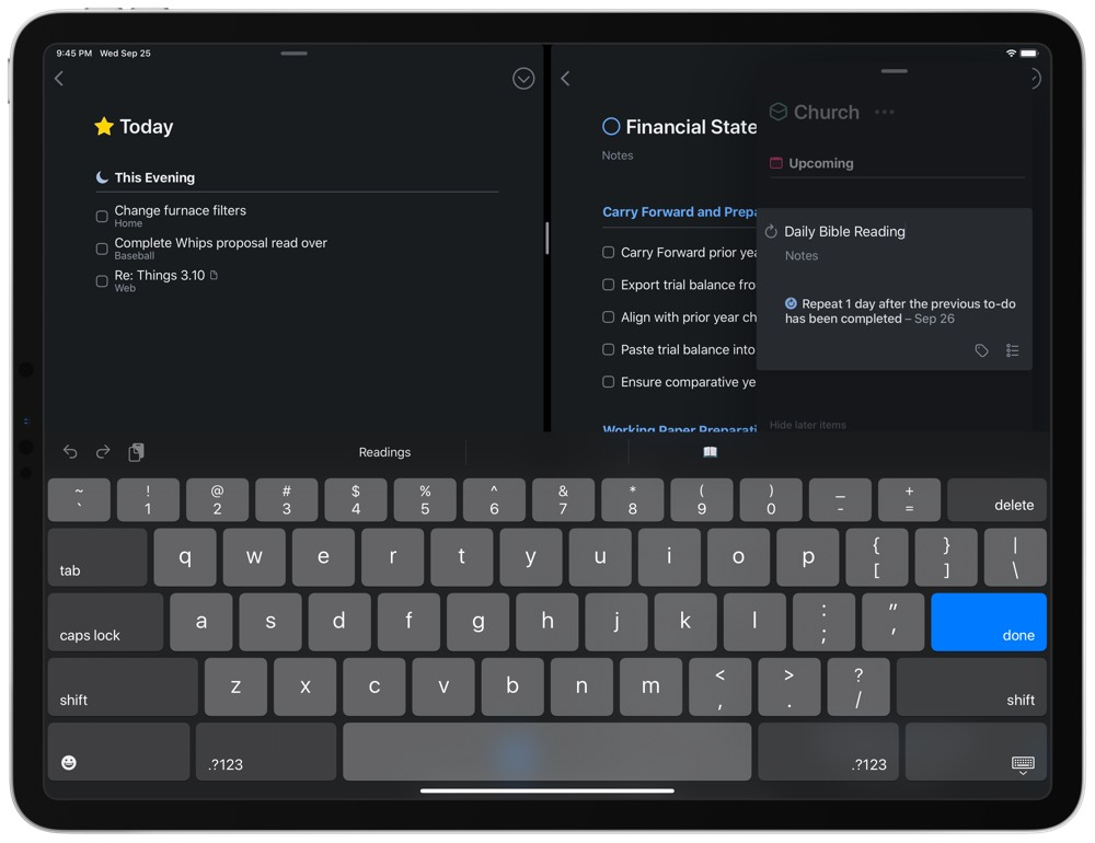 Things 3 for iPadOS