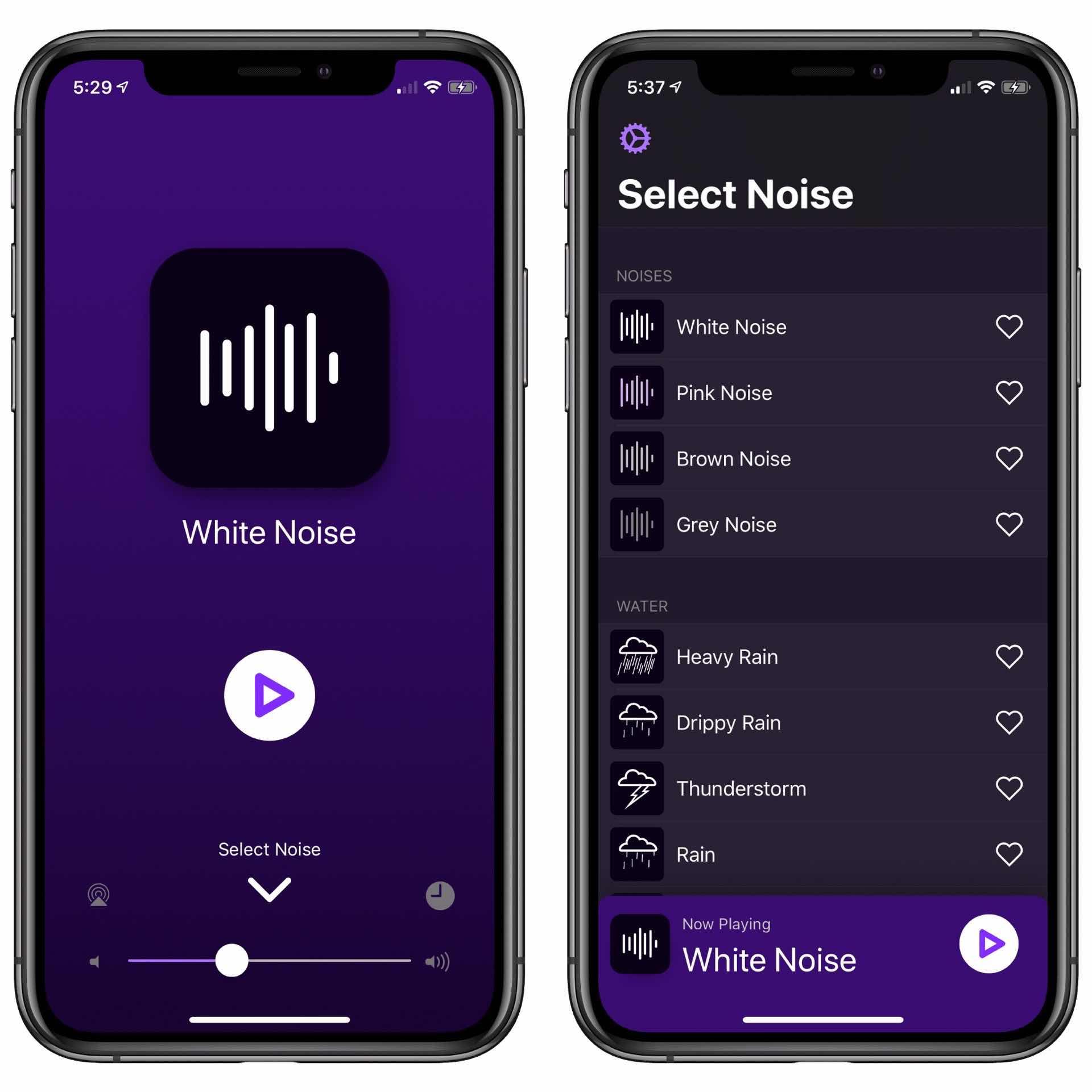Dark Noise for iOS