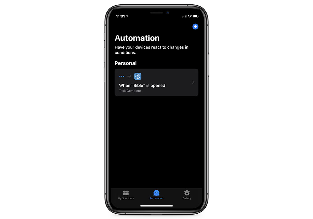 Shortcuts Finished Automation