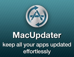MacUpdater automatically tracks the latest updates of all apps installed on your Mac.
