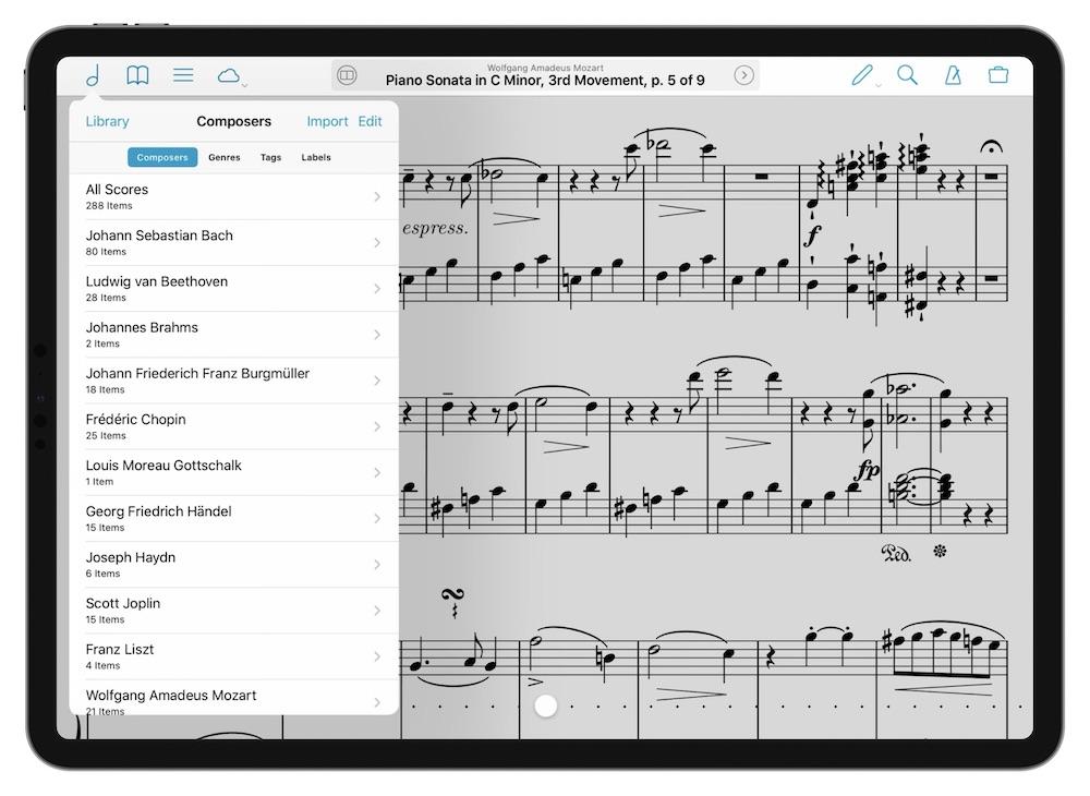 Forscore iPad