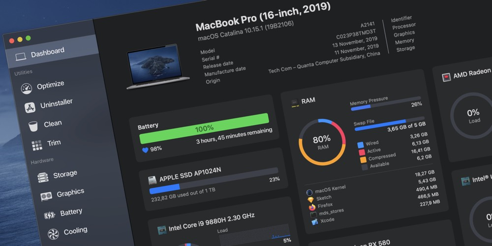 Sensei: An All-in-One Mac Maintenance Dashboard