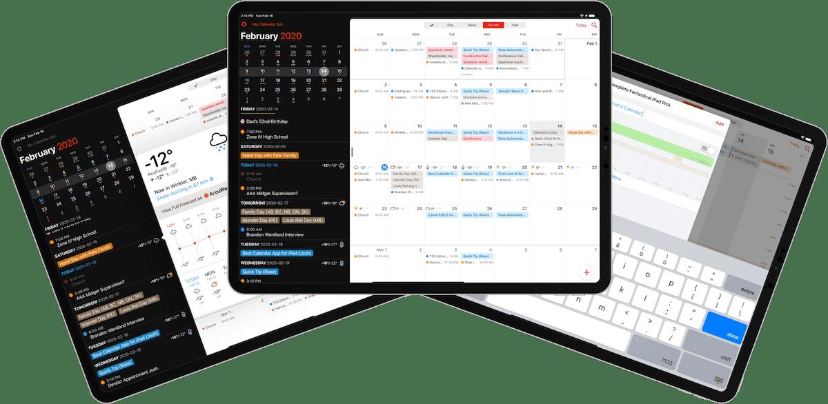 The Best Calendar App For Ipad The Sweet Setup