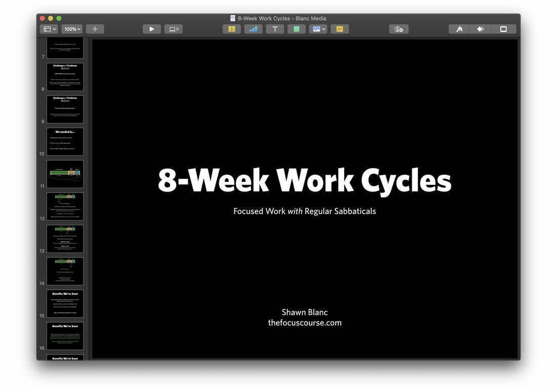 Keynote Slide Deck