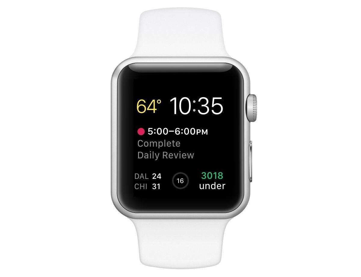 Kyle Bauman's Apple Watch