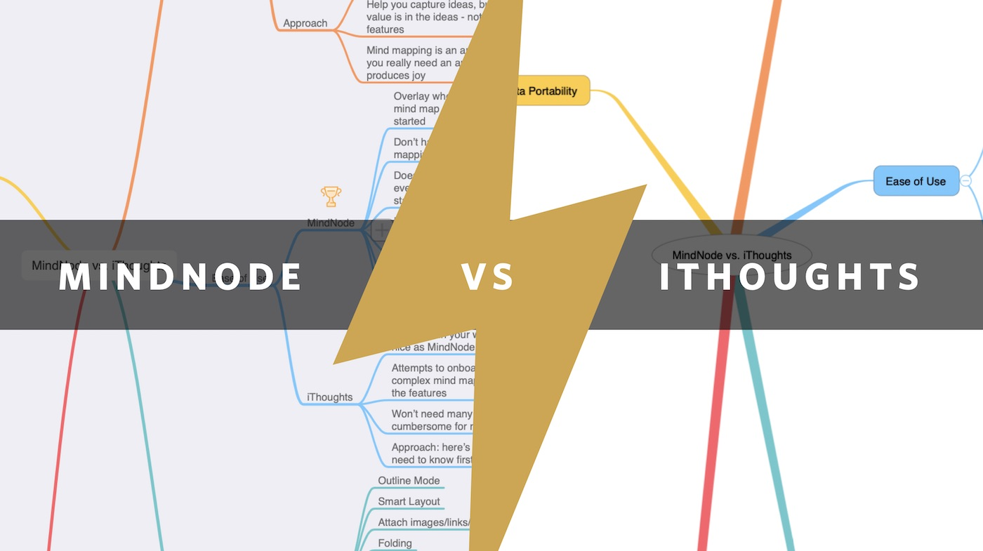 iThoughts vs. MindNode: A Comparison of the Two Best Mind Mapping Apps