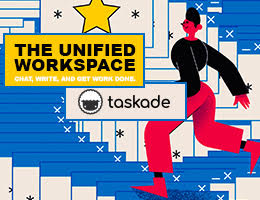 Taskade is a real-time organization and collaboration tool for remote teams. Manage tasks, write notes, in one dashboard.