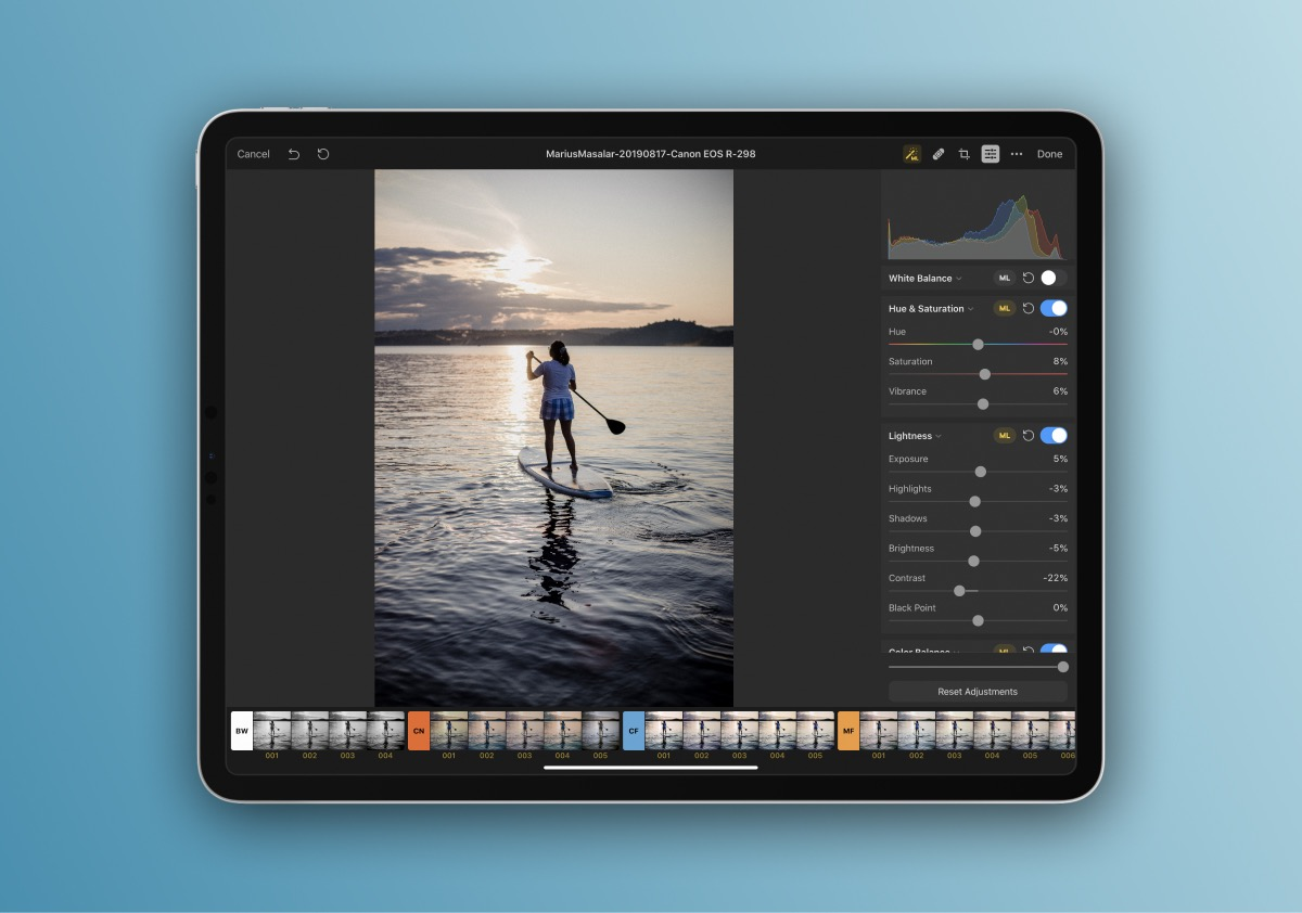 Pixelmator Photo can be as simple or as powerful as you need it to be thanks to its machine learning features.