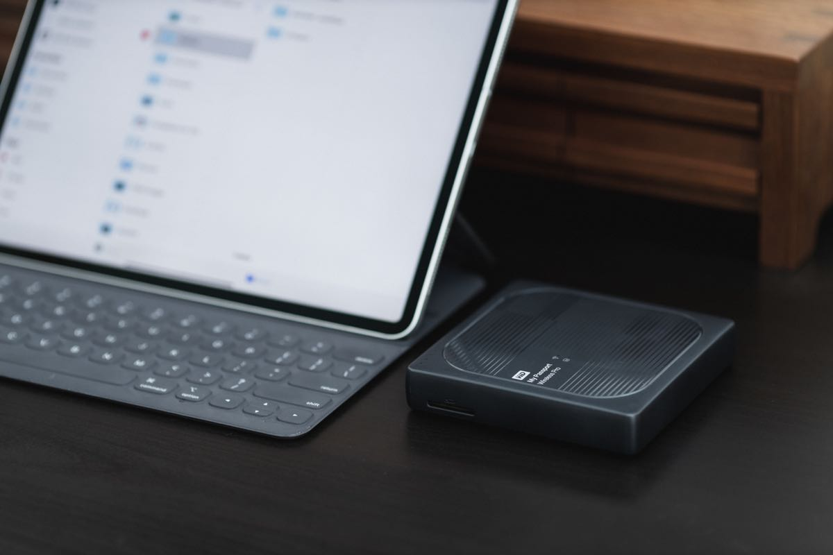 My WD MyPassport Wireless Pro has been a faithful companion on trips, serving as external backup for my photos.