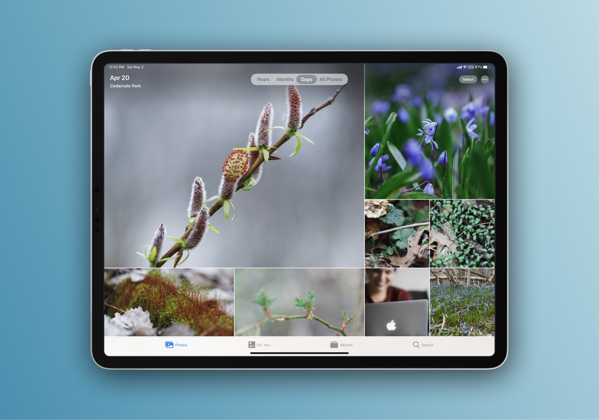 iCloud Photo Library in the Apple Photos app makes managing your photo library beautiful and quick across any Apple devices.