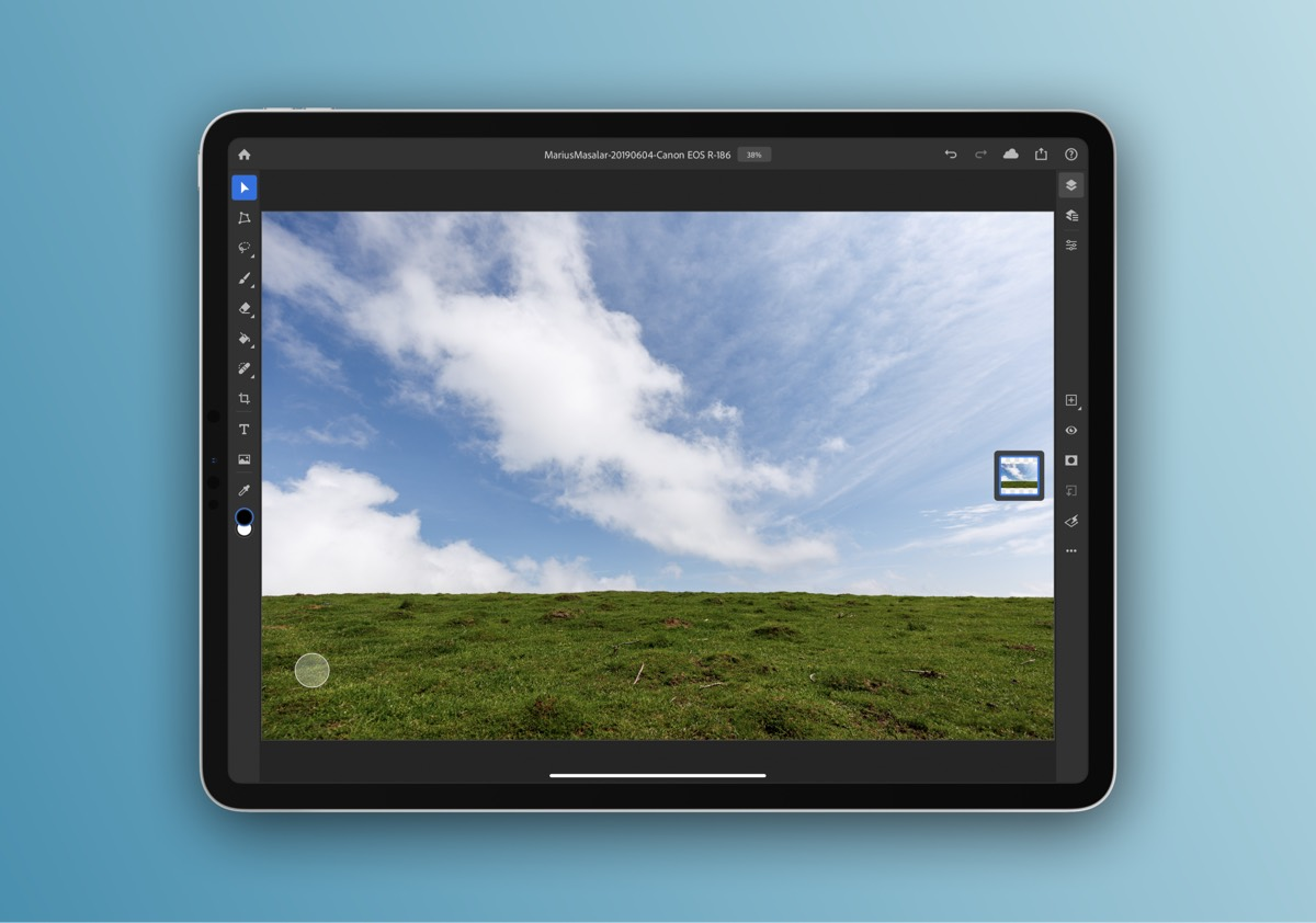 Photoshop—the real thing—stormed onto the iPad this year, and has been frequently updated to expand its feature set.