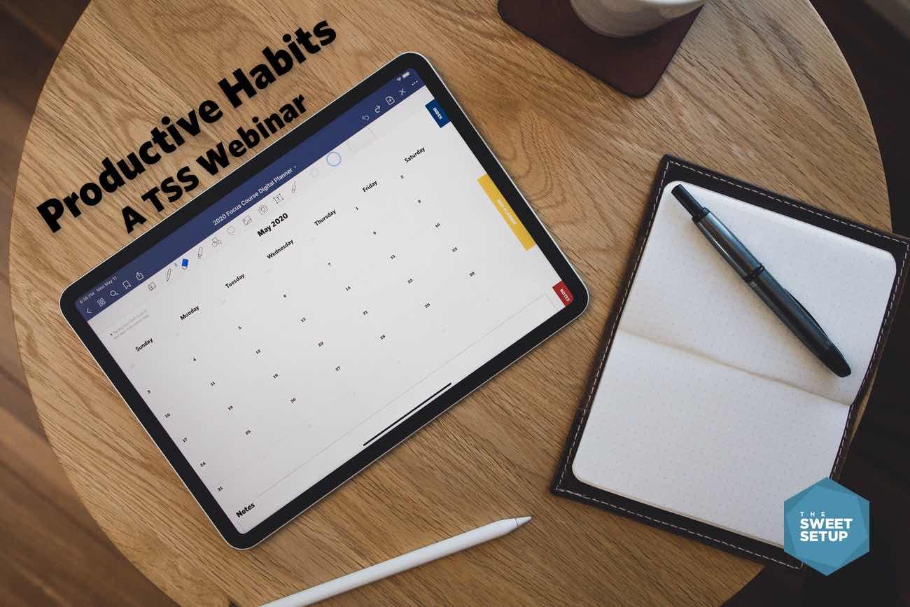 Productive Habits Webinar