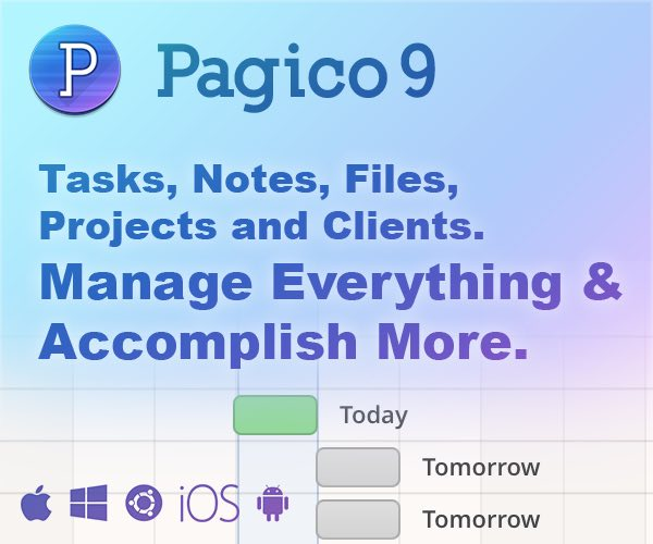 Pagico: Manage all your tasks, notes, docs, projects & clients and stay on track.
