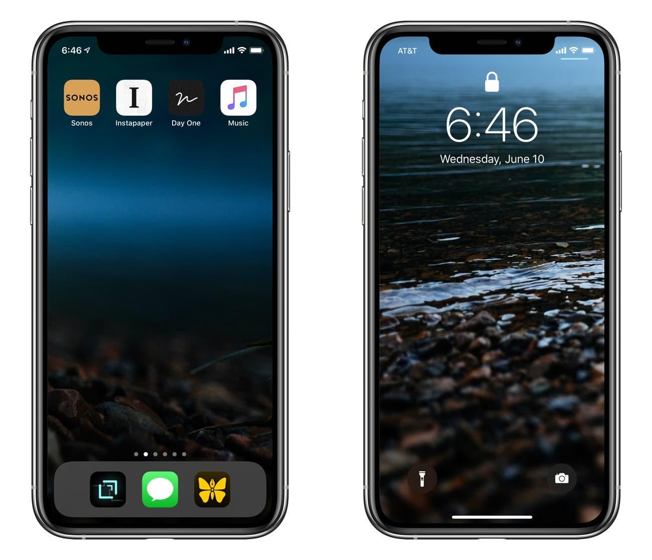 Shawn Blanc's iPhone Home Screen, circa June 2020