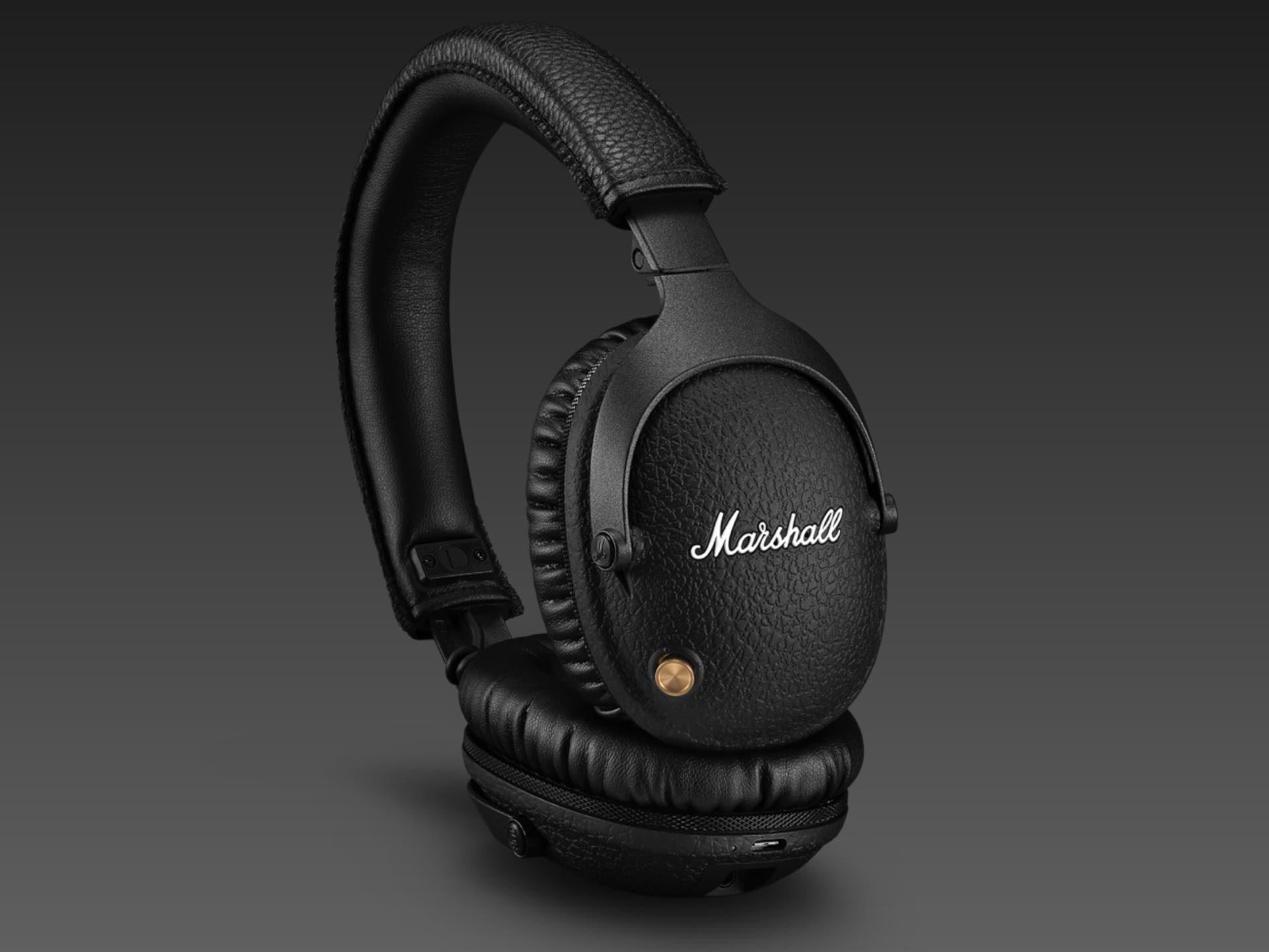 "Marshall ""Monitor II"" Active Noise Canceling Over-Ear Bluetooth Headphones"
