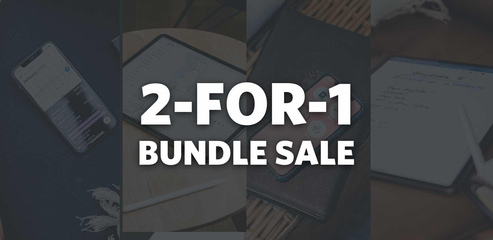 Two-for-one Bundle Sale
