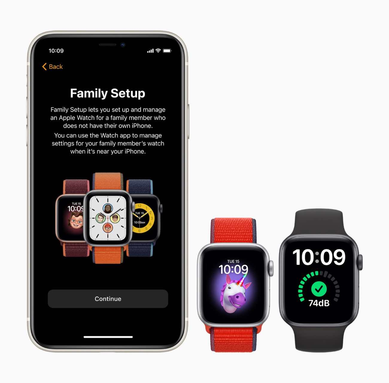 Family Setup for Apple Watch
