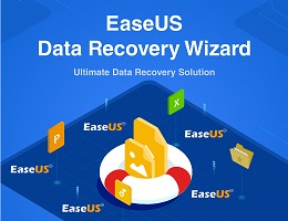 Recover Lost Files at Three Steps with EaseUS Data Recovery Wizard