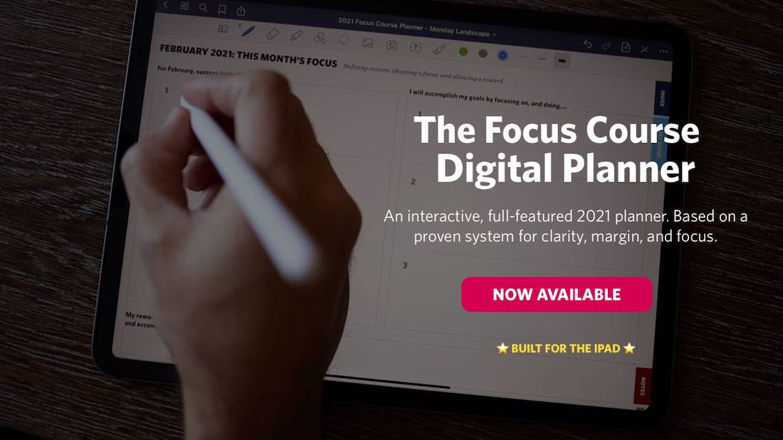 2021 Focus Course Digital Planner