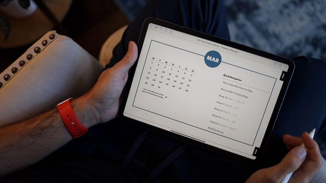 New 2021 Digital Planner