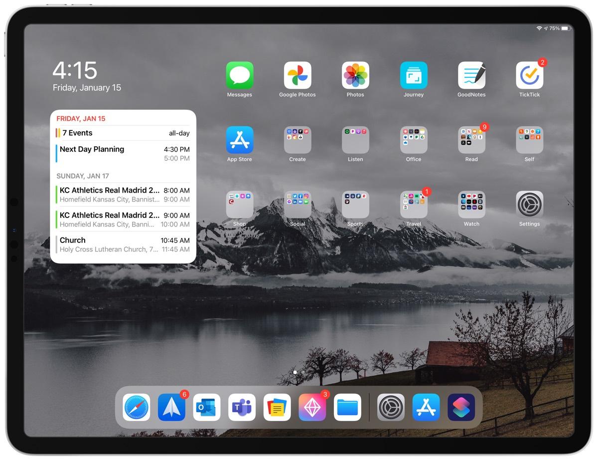 Bart Kesner's iPad Pro