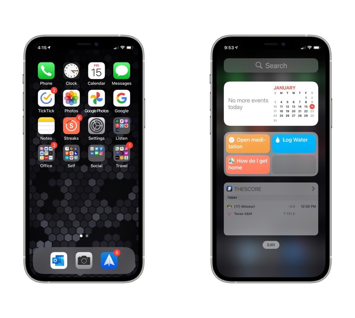 Bart Kesner's iPhone