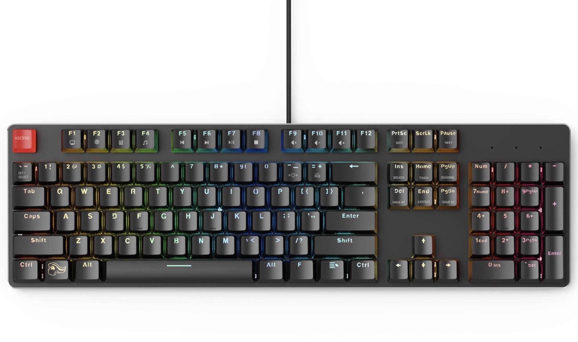 "The ""GMMK"" Modular Mechanical Gaming Keyboard"