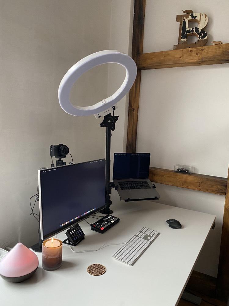 Richard Seidl's desk angle