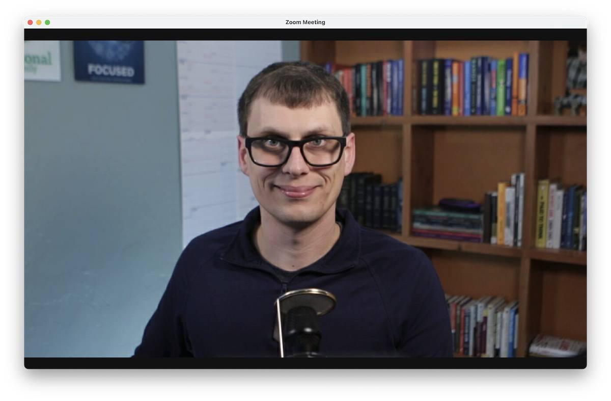 Mike's Fancy DSLR Webcam Setup